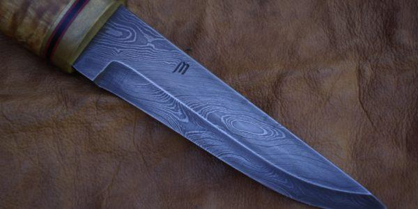 Damascus sheath blade