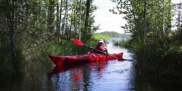 kayaking Saimaa