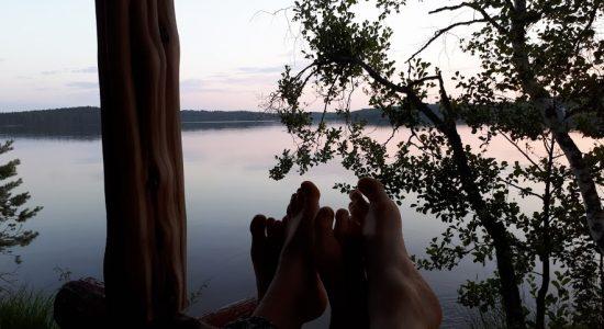 Saimaa moments in Jänissaari