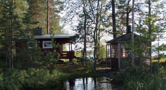 Jänissaari island Lake Saimaa